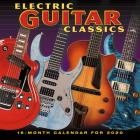 2020 Electric Guitar Classics 16-Month Wall Calendar: By Sellers Publishing Cover Image