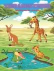 TIERABENTEUER - Malbuch Für Kinder: MEERTIERE, BAUERNHOFSTIERE, Dschungeltiere, HOLZLANDTIERE UND ZIRKUSTIERE Cover Image