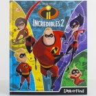 Disney-Pixar Incredibles 2 (Look and Find) Cover Image
