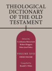 Theological Dictionary of the Old Testament, Volume XVII, Volume 17: Index Volume Cover Image