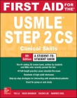 First Aid for the USMLE Step 2 Cs, Sixth Edition Cover Image