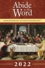 Abide in My Word 2022: Mass Readings at Your Fingertips Cover Image