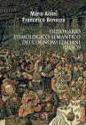 Dizionario Etimologico-Semantico Dei Cognomi Italiani (Desci) Cover Image
