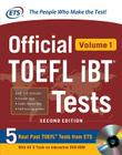 Official TOEFL Ibt(r) Tests Volume 1, 2nd Edition Cover Image