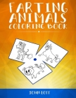 Farting Animals Coloring Book Cover Image