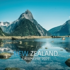 New Zealand Calendar 2021: 16 Month Calendar Cover Image