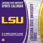 Lsu Tigers: 2020 12x12 Team Wall Calendar Cover Image