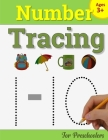 Number Tracing Book for Preschoolers: Number Writing Practice Book for Pre K and Kindergarten: Number Tracing Books for kids ages 3-5, Preschoolers Vo Cover Image