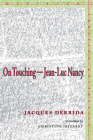 On Touchinga Jean-Luc Nancy (Meridian: Crossing Aesthetics) Cover Image