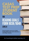 CASAS Test Prep Student Book for Reading Goals Forms 903R/904R Level B Cover Image