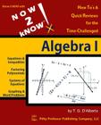 NOW 2 kNOW Algebra 1 Cover Image
