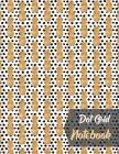 Dot Grid Notebook-Notebook Office-Dot Journal Notebook-Minimalism Art Dotted Journal- Notebook Grid Paper-Art Journals and Sketchbooks Cover Image