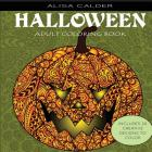 Adult Coloring Books: Halloween Designs Cover Image