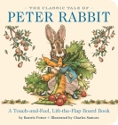 The Classic Tale of Peter Rabbit Touch-and-Feel Board Book: The Classic Edition Cover Image