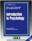INTRODUCTION TO PSYCHOLOGY: Passbooks Study Guide (Fundamental Series) Cover Image