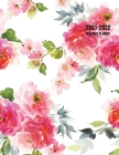 2021-2022 Academic Planner: Large Weekly and Monthly Planner with Inspirational Quotes and Floral Cover Volume 1 (July 2021 - June 2022) Cover Image