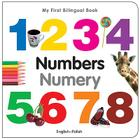 My First Bilingual Book–Numbers (English–Polish) Cover Image