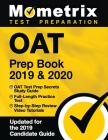 Oat Prep Book 2019 & 2020 - Oat Test Prep Secrets Study Guide, Full-Length Practice Test, Step-By-Step Review Video Tutorials: (updated for the 2019 C Cover Image