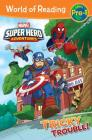 World of Reading Super Hero Adventures: Tricky Trouble!: Level Pre-1 Cover Image