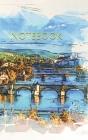 Notebook: bridges Prague Czech Europe town European city Cover Image