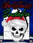 Christmas Sudoku: Christmas Sudoku Puzzle Game Book with Solutions for Teens, Adults - Christmas Puzzles Games to Challenge Your Brain - Cover Image