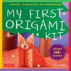 My First Origami Kit: [origami Kit with Book, 60 Papers, 150 Stickers, 20 Projects] [With Sticker(s) and Origami Paper] Cover Image