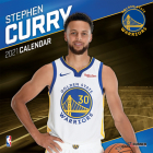 Golden State Warriors Stephen Curry 2021 12x12 Player Wall Calendar Cover Image