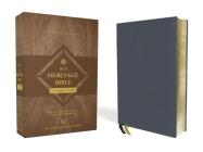 Niv, Heritage Bible, Passaggio Setting, Genuine Leather, Buffalo, Blue, Line Matched, Art Gilded Edges, Comfort Print: Elegantly Uniting Single and Do Cover Image