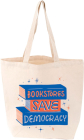 Bookstores Save Democracy Tote Cover Image