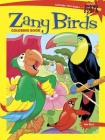 Spark Zany Birds Coloring Book (Dover Coloring Books) Cover Image