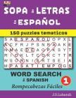 SOPA de LETRAS en ESPAÑOL (WORD SEARCH in SPANISH) Cover Image