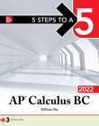 5 Steps to a 5: AP Calculus BC 2022 Cover Image