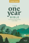 One Year Premium Slimline Bible-NLT-Large Print 10th Anniversary Cover Image