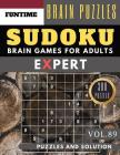 SUDOKU Expert: 300 SUDOKU extremely hard puzzle books - sudoku hard to extreme difficulty Maths Book Puzzles and Solutions times for Cover Image