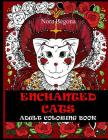 Enchanted Cats: Adult Coloring Book Cover Image