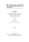 Crimes associated with polygamy: the need for a coordinated state and federal response: hearing before the Committee on the Judiciary, United States S Cover Image
