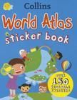 Collins World Atlas Sticker Book Cover Image