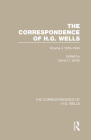The Correspondence of H.G. Wells: Volume 3 1919-1934 Cover Image