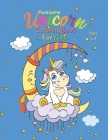 Awesome Unicorn Coloring Book For Kids Ages 4-9 Cover Image