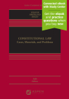 Constitutional Law: Cases, Materials, and Problems (Aspen Casebook) Cover Image