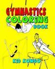 Gymnastics Coloring Book Cover Image