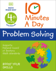 10 Minutes a Day Problem Solving, 4th Grade Cover Image