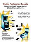 Digital Restoration Secrets: Restore Antiques, Arcade Games,& Pinball Cover Image