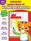 Jumbo Book of Kindergarten Fun Workbook Cover Image