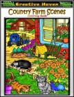 Creative Haven Country Farm Scenes Coloring Book: Premium Creative Haven Country Farm Scenes Coloring Book for Those Who Love Country Farm, spring Sce Cover Image