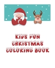 Kids Fun Christmas Coloring Book: Coloring Book For Kids, Christmas Themed, 50 Beautiful Coloring Pages,8x10 Inches, Holiday Activity, Christmas Best Cover Image