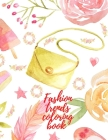 Fashion trends coloring book Cover Image