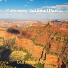 Colorado National Parks Calendar 2021 Cover Image