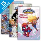 Marvel Super Hero Adventures Graphic Novels (Set) Cover Image