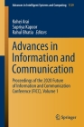 Advances in Information and Communication: Proceedings of the 2020 Future of Information and Communication Conference (Ficc), Volume 1 (Advances in Intelligent Systems and Computing #1129) Cover Image